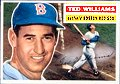 Ted Williams   Boston Red Sox   1956 Topps