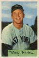 1953 Bowman micky mantle card