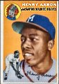 Henry Aaron Milwaukee Braves 1954 Topps