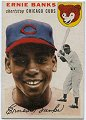 Ernie Banks   Chicago Cubs   1954 Topps