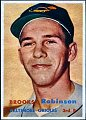 Brooks Robinson   Baltimore Orioles   1957 Topps card