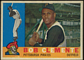 Bob Clemente Pittsburgh Pirates 1960 Topps Baseball Card
