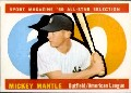 1960 Topps Miky Mantle baseball card