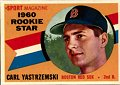 Carl Yastremski  Boston Red Sox   1960 Topps