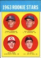 Pete Rose   Cincinnati Red Legs   1963 Topps rookie card