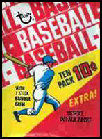 Vintage Topps card unopened materials